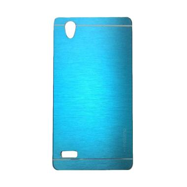 Motomo Metal Hardcase Casing for Oppo Mirror 5 or A51T - Sky Blue