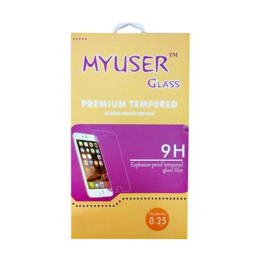 MyUser Tempered Glass Screen Protector for OPPO F1 S - Clear