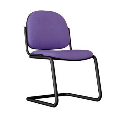Verona Chair KH-512 Type Standard Vinyl Kursi Kantor - Biru