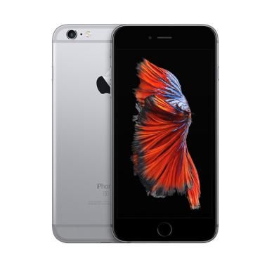 Apple iPhone 6S Plus 64GB Smartphone - Grey [NEW Inter] Free Tongsis