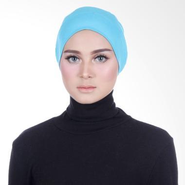 Cantik Kerudung Sheefa Cape Inner Daleman Kerudung - Blue