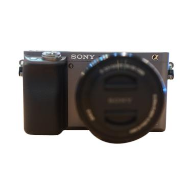 SONY Alpha A6000L Kit Lens 16-50mm Kamera Mirrorless - Dark Gray