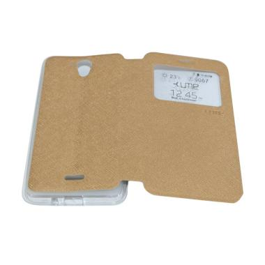 Ume Flip Cover Casing for Hisense F20 / Pureshot Flipshell / Leather Case / Sarung HP
