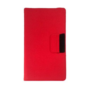 VR Leather Bookcover Flip Cover Cas ... Nexus 7 Inch [2013] - Red