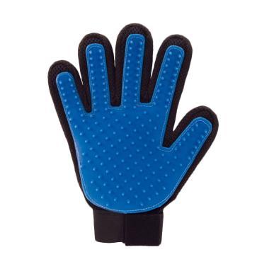 harga As Seen On Tv True Touch Five Finger Pet Deshedding Glove Blibli.com
