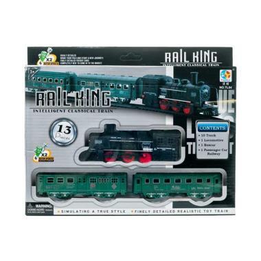 Pusat Mainan Anak TL-04 Kereta Api Rail King Set Mainan Anak
