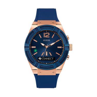 GUESS C0002M1 SmartWatch Jam Tangan Pria - Blue Rose Gold