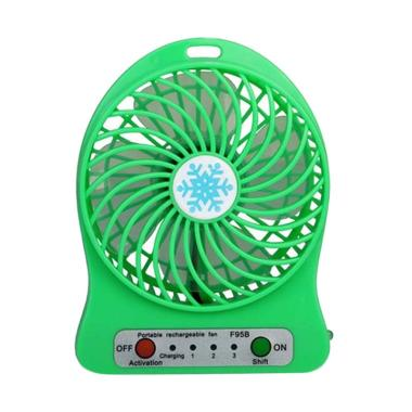Universal Rechargeable Portable Mini Fan with Battery Kipas Angin Mini