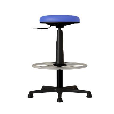 Verona Chair KB-002-H Type Standard Vinyl Kursi Kantor - Biru