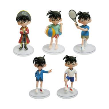 harga Sarina Toys Detective Conan Set Seri B Action Figure [5 pcs] Combine Blibli.com