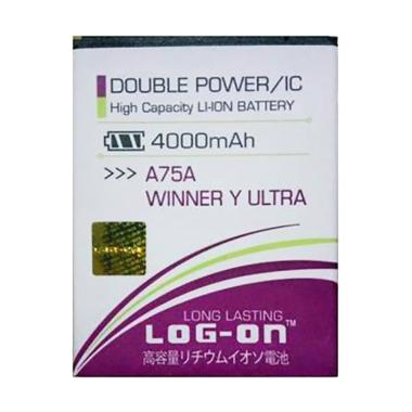 Log On Double Power & IC Battery for Evercoss A75A [4000 mAh]