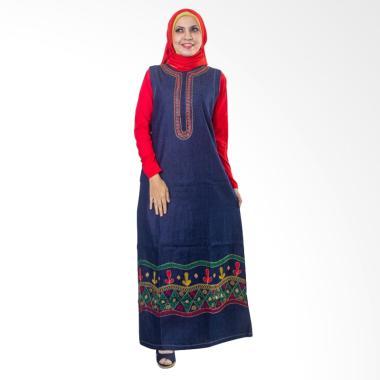 Believe AG-22 Baju Muslim Gamis Dress Modern Wanita Kaos Soft Jeans