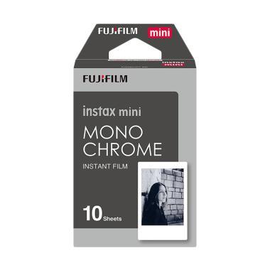 Fujifilm Instax Mini MonoChrome Refill Film Instant [10 Lembar]