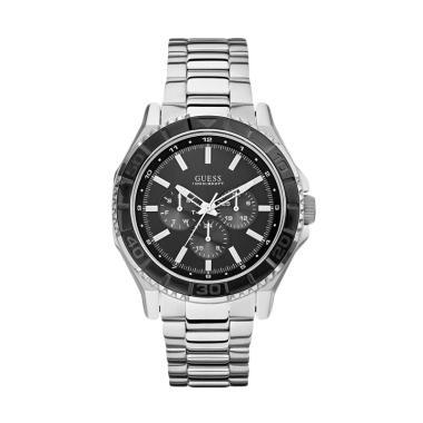 Guess Jam Tangan Pria - Silver W0479G1