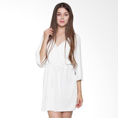Sexy Sleep Nightgown Hannah SS127 Baju Tidur Wanita - White