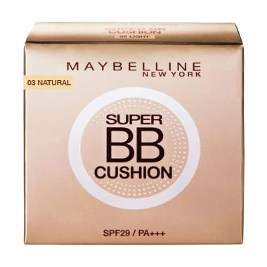 Maybelline Super Bb Cushion Foundation N Concealer-Natural