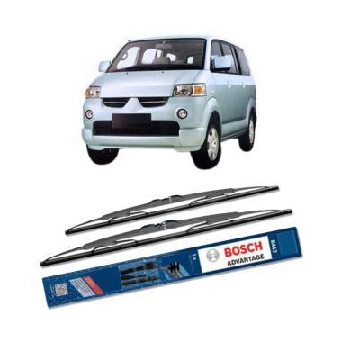 Bosch Advantage Wiper Kaca Depan Mobil for Mitsubishi Maven [18 dan 18 Inch]