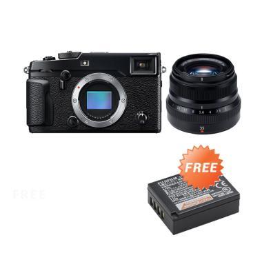 Promo November - Fujifilm X-Pro2 Kit XF35mm F2.0 Kamera Mirrorless + Free NP-W126S Baterai