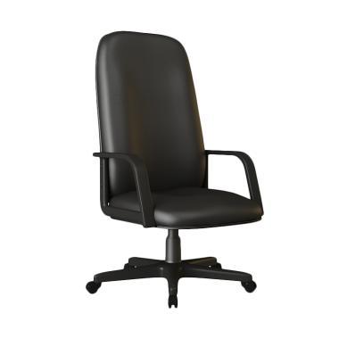 Verona Chair KD-151-HK Type Standard Oscar Kursi Kantor - Hitam