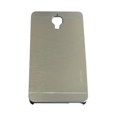 Motomo Metal Hardcase Backcase Casing for Xiaomi Mi 4 or Mi4 - Silver