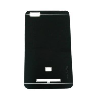Motomo Metal Hardcase Casing for Xiaomi Mi 4i or Xiaomi Mi4i - Hitam