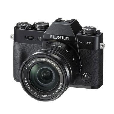 Fujifilm X-T20 Kit 16-50mm Kamera M ...  Black [Instax Share SP2]