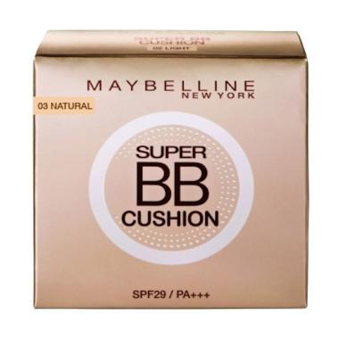 Maybelline Super BB Cushion Foundation N Concealer - 03 Natural