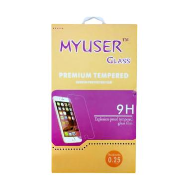 Myuser Tempered Glass Screen Protector for Oppo Neo 7 - Clear