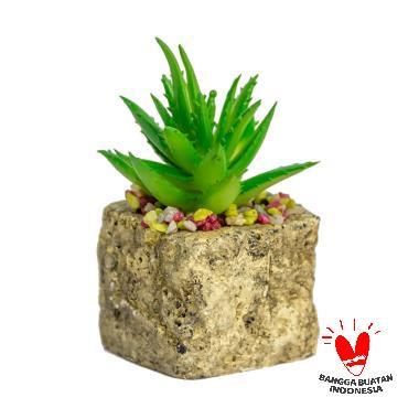 Dogiyai tanaman bunga pohon sintetis artifisial hiasan cafe meja