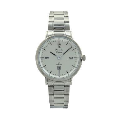 Alexandre Christie Women 8499 Jam Tangan Wanita - Silver