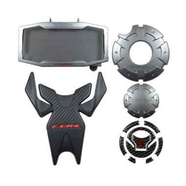 Honda Genuine Accessories Paket Aks ... w Honda CBR 150R - Silver