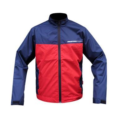 Respiro Essenzo Sporto Vent R1 Jaket Motor Pria - Navy Red