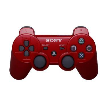 Stik PlayStation 3 Dualshock 3 Wireless Controller Stik - Merah