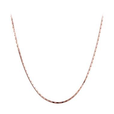 Bella & Co Chain Necklace LKN18KRGP ...  Kalung Rantai Lapis Emas