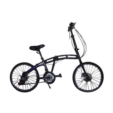 Viva Cycle Y3110 9080 18sp Comet Al ...  Sepeda - Black [20 Inch]