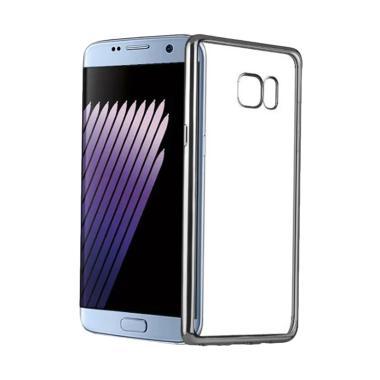 OEM Case Shining Chrome Softcase Ca ... lat G920 5.1 inch - Black