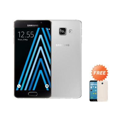 Ultrathin Aircase Casing for Samsung Galaxy A3 2016 SM-A310F - Clear + Free Ultra