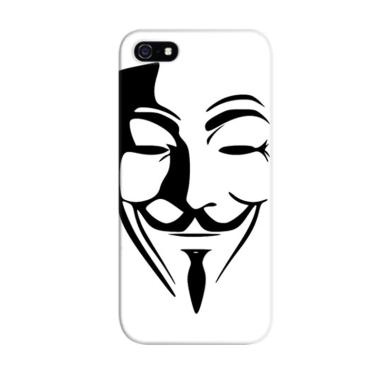 Indocustomcase Anonymous Mask 2 Cus ...  for Apple iPhone 5/5S/SE