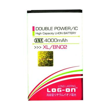 Log On Battery Double Power and IC  ... 4000 mAh/Garansi 6 Bulan]