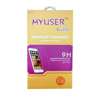 MyUser Tempered Glass Screen Protector for Oppo Joy 3 - Clear