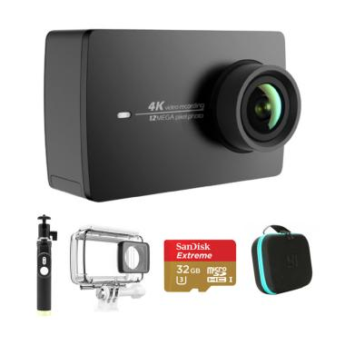 Xiaomi Yi 2 II 4K International Ver ... ete Action Camera - Black