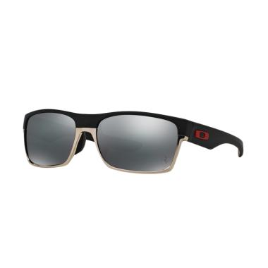 Oakley Black Iridium Twoface A OO92 ... e Black [Size 60/ 925608]