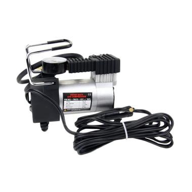 Mini Air Compressor Heavy Duty 12V - Pompa Angin Ban Mobil