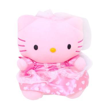 Istana Kado IKO00713 Hello Kitty We ... ess Gaun Boneka [14 Inch]