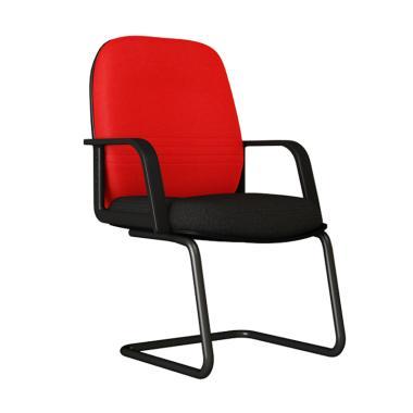 Verona Chair KH-501-HK Type Standard Vinyl Kursi Kantor - Merah