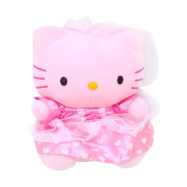 Istana Kado IKO00712 Hello Kitty We ... ess Gaun Boneka [18 Inch]