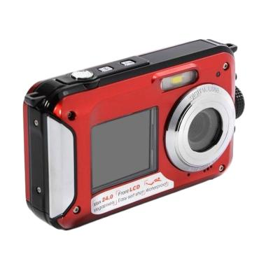 Xcsource LF747 Action Cam - Red [24 ...  HD 1080P/ 3M Waterproof]