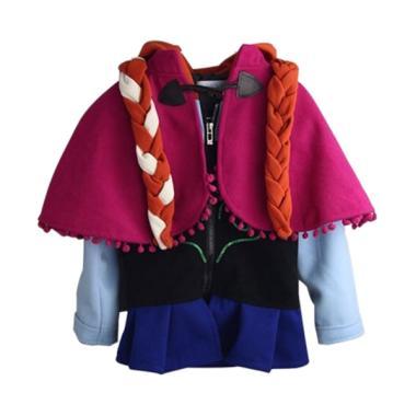 Chloe's Clozette Jaket Anak Frozen Kostum Anna JA 19 - Hitam
