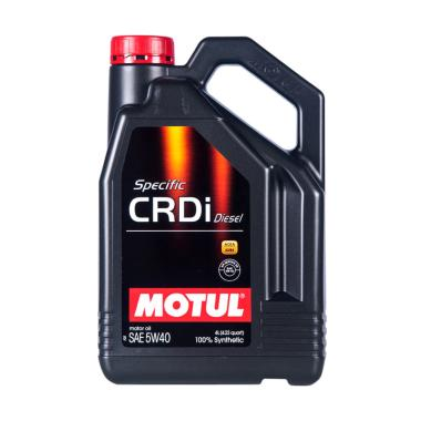 Motul Specific CRDI Diesel 5W 40 Full Synthetic Galon Oli Pelumas 4 L