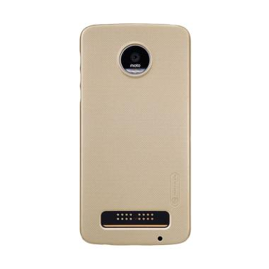 Nillkin ORIGINAL Super Frosted Shield Moto Z - Gold/Emas Hardcase Backcase Backcover Case HP